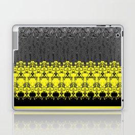 Damask Floral Texture Laptop & iPad Skin