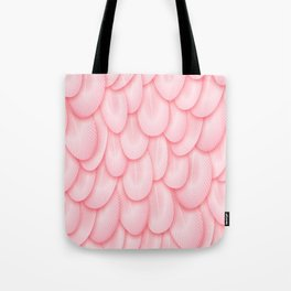 Spoonbill Feathers Tote Bag