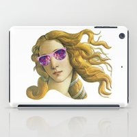 popart iPad Cases featuring Venus the Popart Goddess by Ugurcanozmen