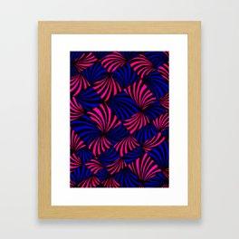 Parabolic Fans Framed Art Print