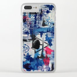 Giving strength Clear iPhone Case
