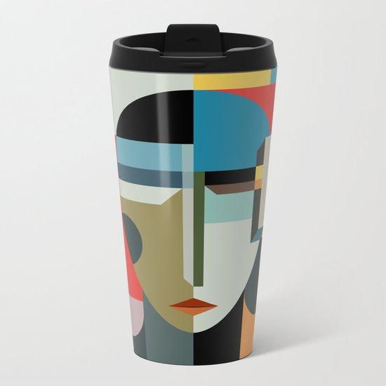 WOMAN OF WHEN Metal Travel Mug