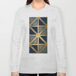 Art Deco Graphic No. 144 Long Sleeve T-shirt