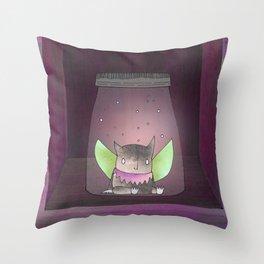 The Soju Cellar Throw Pillow