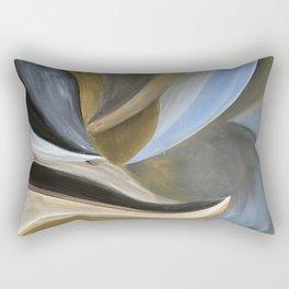 Crushing Waves Rectangular Pillow