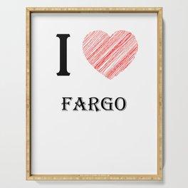 Fargo Classic. I love my favorite city. Serving Tray