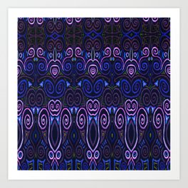 Sahasrara Repeating Art Print