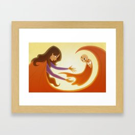 Supermom! Framed Art Print