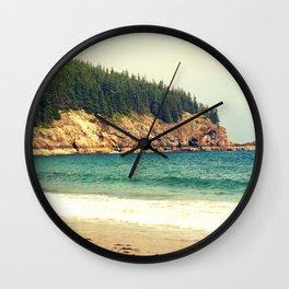 Sand Beach Wall Clock