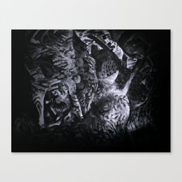 Still from painted Animation - Zobeide Canvas Print