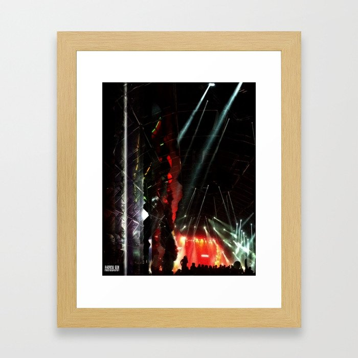 Coachella '13 - Knife Party 03 Framed Art Print