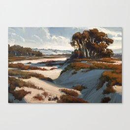 Sand Lands Canvas Print
