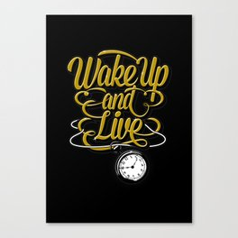 Wake Up! Canvas Print