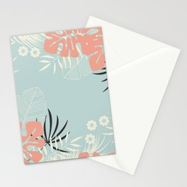 Tropical pattern 043 Stationery Cards