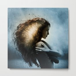 Moksha ~a tribute to Aégis Metal Print