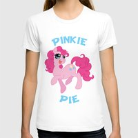 mlp T-shirts featuring MLP FiM: Pinkie Pie by Yiji