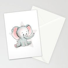 Baby Elephant Stationery Cards