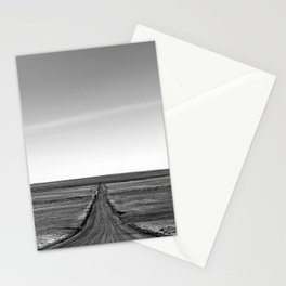 Long Lonely Road Stationery Cards