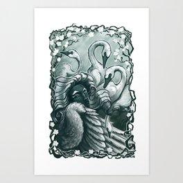 Swanmay Art Print