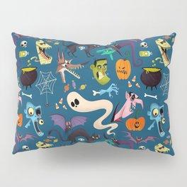 Halloween Pattern Background Wallpaper Ultra HD Pillow Sham