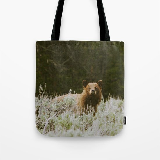 Bush Bear Tote Bag