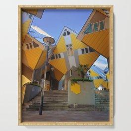 Rotterdam architecture Serving Tray