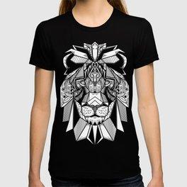 Lion Mandala art T-shirt