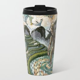 In the Rice Paddies Travel Mug