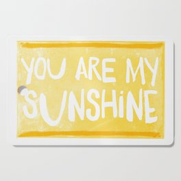 My Sunshine Love Cutting Board