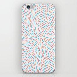 Circle Murmuration iPhone Skin