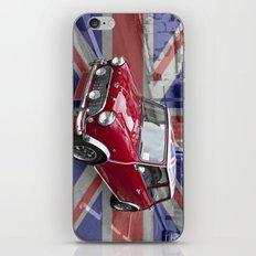 British Classic Mini car iPhone & iPod Skin