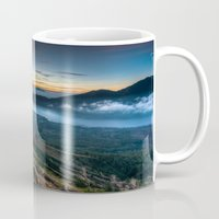 indonesia Mugs featuring Batur Indonesia HDR by Santiago Billy