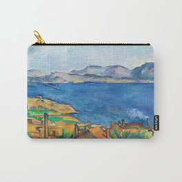 Bay of Marseille Painting Paul Cezanne French Impressionism Art French Landscape Painting Carry-All Pouch