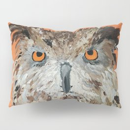 Wise Owl.  Hootie, Who, Who Pillow Sham