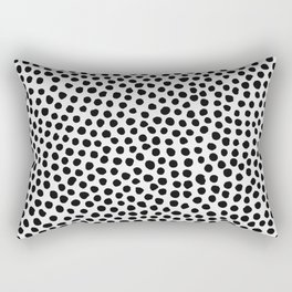 Dots Pattern Rectangular Pillow