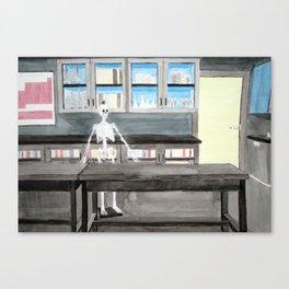 Biology Classroom Canvas Print