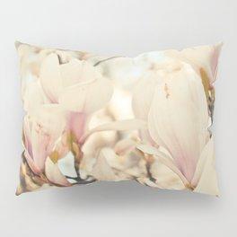 Magnolia and Cream Pillow Sham
