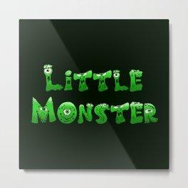 Little Monster (dark bg) Metal Print