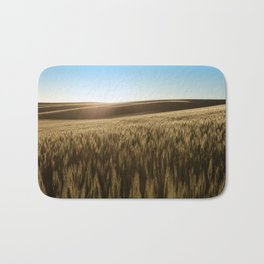 Palouse Sunset Photography Print Bath Mat