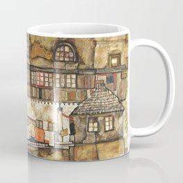 Egon Schiele - House Wall on the River, 1915 Coffee Mug