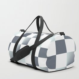 Square Pattern Simple Grid #decor #society6 #buyart Duffle Bag