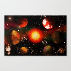 SPACE - 10223013 - 007 Canvas Print