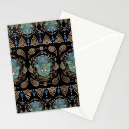 Hamsa Hand -Hand of Fatima Ornament Stationery Cards