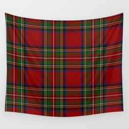 Royal Stewart Tartan Clan Wall Tapestry