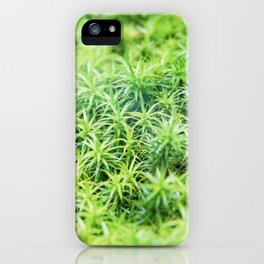 Forest of moss iPhone Case