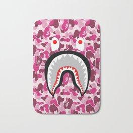 Bape Shark Pink Bath Mat