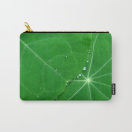 Nasturtium Dew Carry-All Pouch