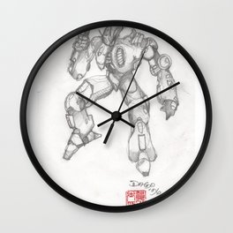 Mechanoid Wall Clock