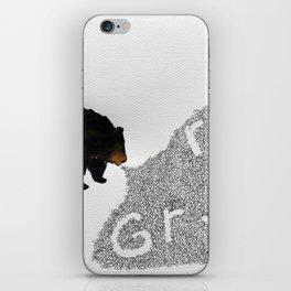 Grrrrrr... iPhone Skin