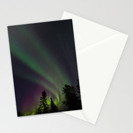 Northern Lights 3 Stationery Cards
